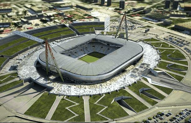 juventus stadium area attorno