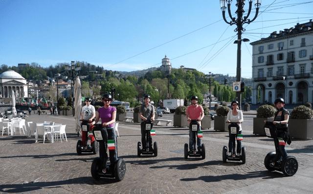 Torino su due ruote sui sagway