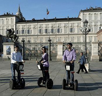 Sagway a Torino, visite su due ruote nella città