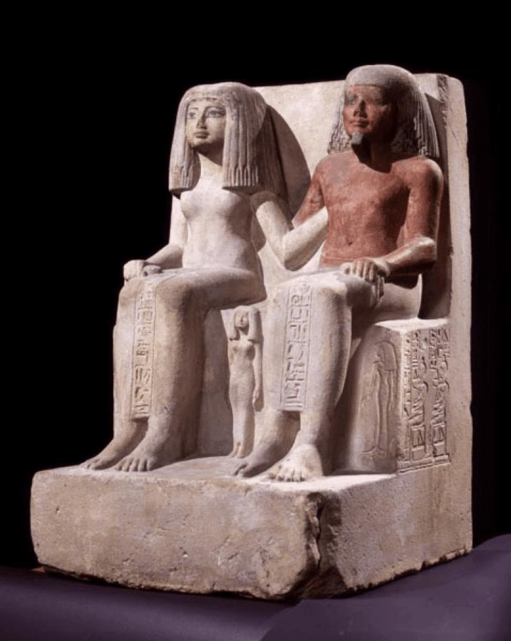 Coppia egiziana