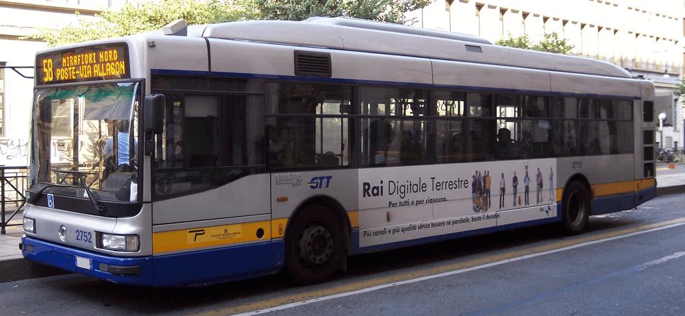Torino, trasporto pubblico GTT