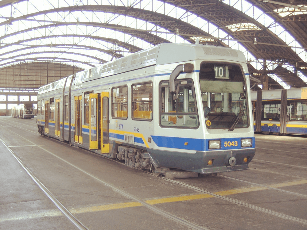 Trasporti Torino, tram 10 GTT