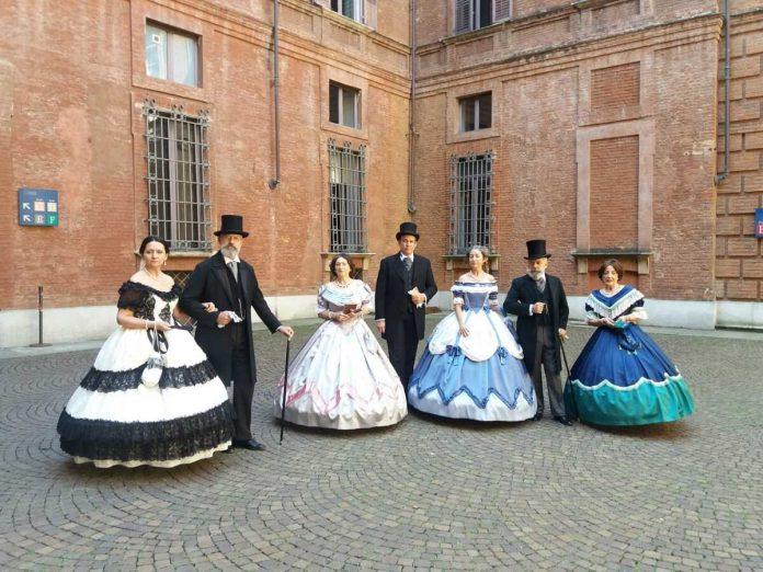 Rievocazione storica a Palazzo Cisterna