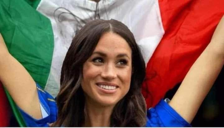 Megan Markle tifa italia